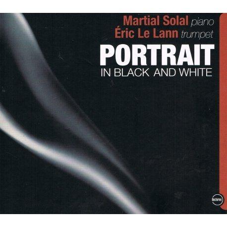 PORTRAIT IN BLACK AND WHITE - Eric LE LANN - Jaquette