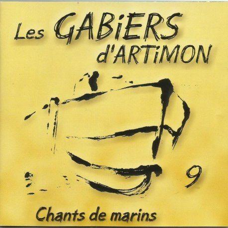Cd cover CHANTS DE MARINS CD 9